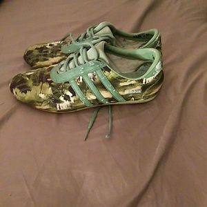 Camo style shoes